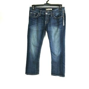 BKE SABRINA size 28 Dark Blue Wash Jeans